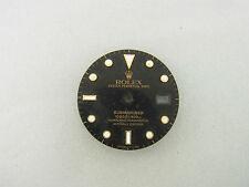 Rolex Submariner schwarzes Zifferblatt Gold black dial Tritium Ref 16803 16808