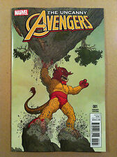 "UNCANNY AVENGERS V.3 #1 GEOFF DARROW ""KIRBY MONSTER"" 1:10 VARIANT COVER NM 1ST"