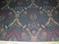 "~11 YDS~""VICTORIAN FLORAL MEDALLIONS""~TAPESTRY UPHOLSTERY FABRIC FOR LESS~"