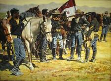 """""""Ready for Ten"""" Don Stivers Signed Limited Edition Print - Buffalo Soldiers"""