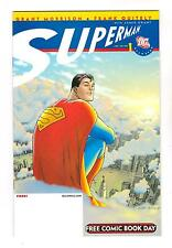 ALL STAR SUPERMAN 1 FREE COMIC BOOK  DAY  (NM) ...FASTER...  (FREE SHIPPING) *