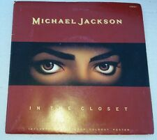 "Michael Jackson - In The Closet POSTERBAG 7"" Vinyl Record Pop Single 45RPM"