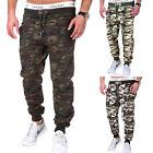 Camouflage Trainingshose Jogginghose Sporthose Hose Schwarz/Grau/Khaki/Army NEU