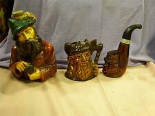 ***X5 COLLECTIBLE ANIMATED DECANTERS-BELLS-GRANTS-AVON-SCOTTISH WHISKY- GIFT***