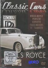 DVD + Rolls Royce + Porsche + Corvette + Falls + Automobilgeschichte f Liebhaber