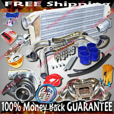 Upgrade Turbo Kits GT35 Turbo for 89-94 Nissan 240SX S13 KA24 TOP MOUNT