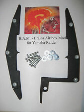 Brain's Air box Mod for Yamaha Raider Motorcycles