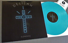 "RSD 2016 12"" BLUE VINYL FLORENCE + THE MACHINE DELILAH Record Store Day DEMO+Mp3"