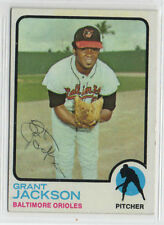 Gran Jackson 1973 Topps signed auto autographed card Baltimore Orioles