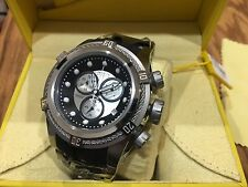 21808 Invicta Reserve Mens 52mm Bolt Zeus Swiss Quartz Chronograph Strap Watch
