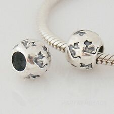 BLACK CAT LUCKY genuine 925 sterling silver charm bead fits european bracelet
