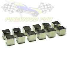 """Tungsten Cubes 1/4"""" for Pinewood Derby Car Weight"""