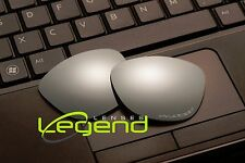 E52 Titanium ETCHED POLARIZED Replacement Legend Lenses For Oakley FROGSKIN