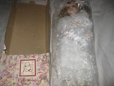 """Porcelain Doll 17"""" The Broadway Collection #D035 New in Box LOOK!"""