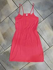 1103 Old Navy Coral Pink Racerback Casual Spaghetti Strap Summer Beach Dress S