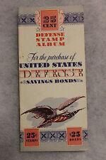 Original WW2 U.S. Homefront ''Defense Stamp Album'', Unissued