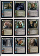 LOTR Reflections TCG Complete 26 Card 9R+ Foil Set