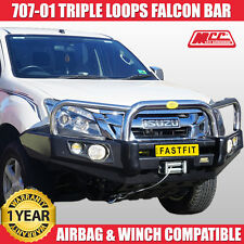 MCC4x4 707-01 Falcon Bull Bar - Isuzu DMax 2012 ON BULLBAR 4x4 WINCH Compatible