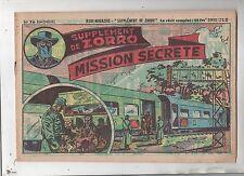 Collection Supplément de Zorro n°76. Mission secrète. Oulié. 1951