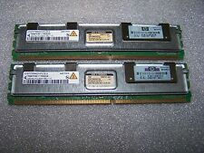 4GB HP / Infineon DDR2 667MHz PC2-5300F Fully Buffered Server FBDIMM, 2x 2GB Set