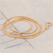 Classic 9K Yellow Gold Filled Women's Snake Chain Necklace 45CM, 14C0403