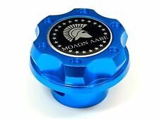 MOLON LABE SPARTAN CNC BILLET ENGINE OIL CAP FOR CHEVY LS1 LS2 LS3 LS6 BLUE