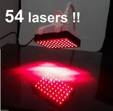 HAIR GROWTH LOSS RE-GROWTH TREATMENT with 54 LASERS! - this is NOT a LASER COMB