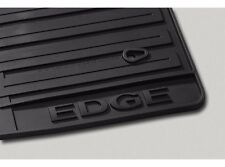 2011-2014 Ford Edge Black All Weather Floor Mat Set - 3-pc