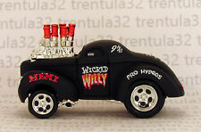 '41 WILLYS COUPE 1941 BLACK HOT ROD 1:64 SCALE DIECAST MUSCLE MACHINES
