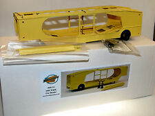 BROOKLIN MODELS BRK 214, 1955 W & K 4-Vehicle Car Hauler, auto Transporter, 1/43