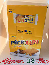 24x Bahlsen Leibniz Pick Up Choco & Milk Biscuits ,fresh from Germany free ship