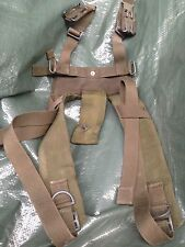 1958 patt Nylon Webbing Yoke Harness rare 1970-80s British Army issue UNISSUED