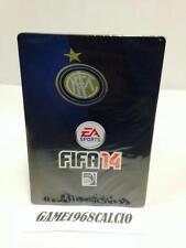 FIFA 14 STEEL BOX INTER PS3 XBOX 360 PC NUOVA SIGILLATA SCATOLA METALLICA RARA