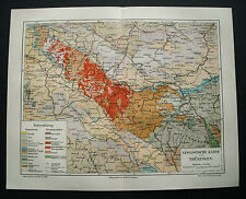 1897.Orig. Xilo-Topografiche_TURINGIA CARTA GEOLOGICA..