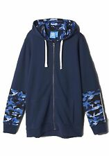 NEW MEN'S ADIDAS ORIGINALS STREETWARE FULL ZIP HOODIE ~SIZE LARGE  #Z97202