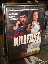 Mission Killfast (DVD) Ted V. Mikels, Tiger Yang, Sonny Kind, Ronald Gregg, NEW!