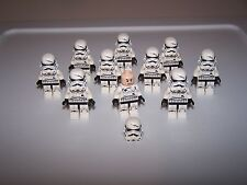 LEGO® STAR WARS minifigure stormtrooper storm trooper x10 75134 head flesh lot