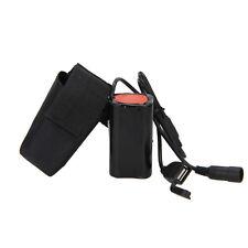 USB DC porto 8.4V 6400mAH 4X18650 Ricaricabile Batteria Per Bici Faro headlamp
