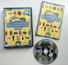 Los Sims 2: Cocina y Baño Diseño de Interiores cosas Accesorio Juego de Simulación (Pc)
