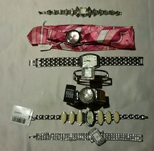 Lot of 7 Women's Watches Silver Tone Terner Chico's Coro Precision Gruen Quartz
