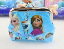 Free Ship 1pc Frozen Elsa Children Cartoon Purses Wallets bags Birthday Gifts