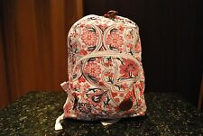Roxy Harmony Floral Multi Colored Backpack School Bag NEW