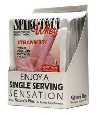 SPIRU-TEIN WHEY- STRAWBERRY - 1 Packet (1.2 oz) HIGH PROTEIN ENERGY MEAL