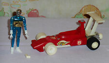 vintage Mego Micronauts WARP RACER WITH BLUE TIME TRAVELER