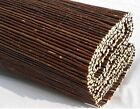 WILLOW SCREENING ROLL Screen Fencing Garden Fence Panel WOODEN Outdoor 4m Long