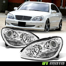 Replacement 2000-2006 Mercedes Benz W220 S-Class S430 S500 Projector Headlights