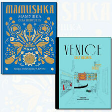 Mamushka Recipes from Ukraine 2 Book Collection Set Venice Cult Recipes NEW