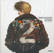 New Kodansha Book OTOMO KATSUHIRO ARTWORK KABA 2 Comics From Japan