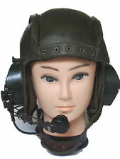 RARITY++++ leather tank helmet from french military