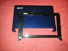 COVER SCOCCA CASE LCD per Acer Aspire One ZG5 - BLU - webcam cornice
